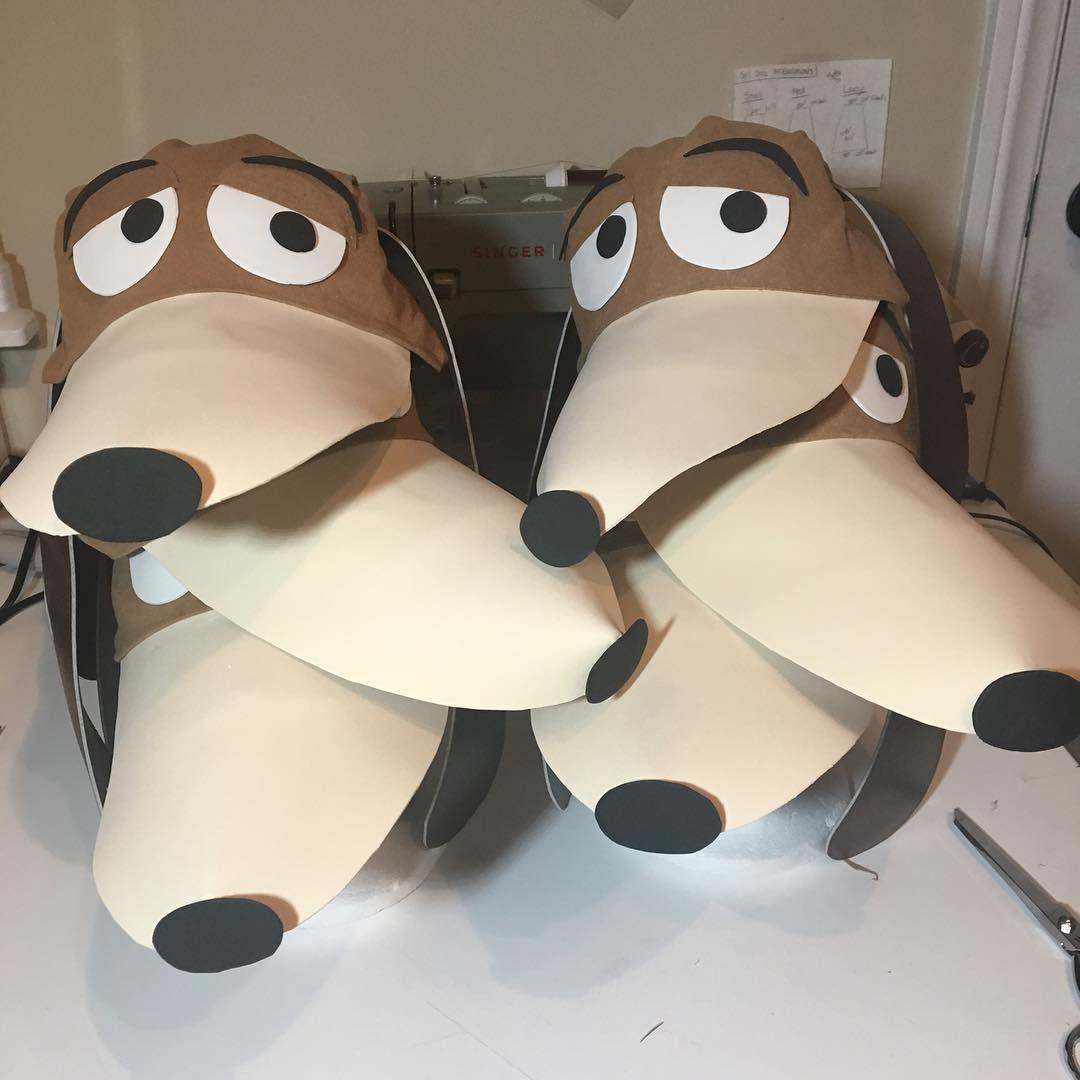 Diy Toy Story Slinky Dog Costume Toy Story Kostum Halloween
