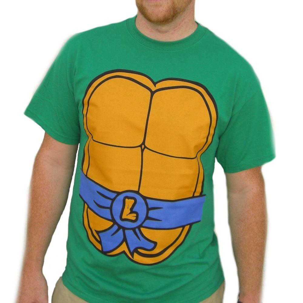 Leonardo Teenage Mutant Ninja Turtles T-Shirt Costume TMNT New ...