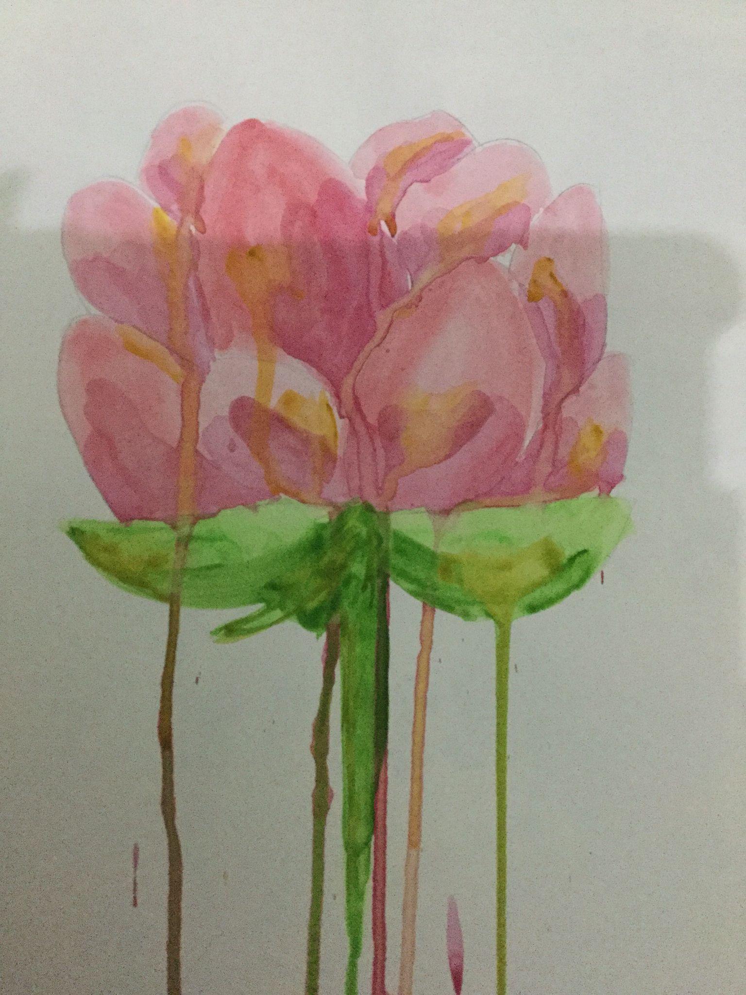 Lotus flower watercolor art artcreations peace creations lotus flower watercolor art artcreations peace mightylinksfo