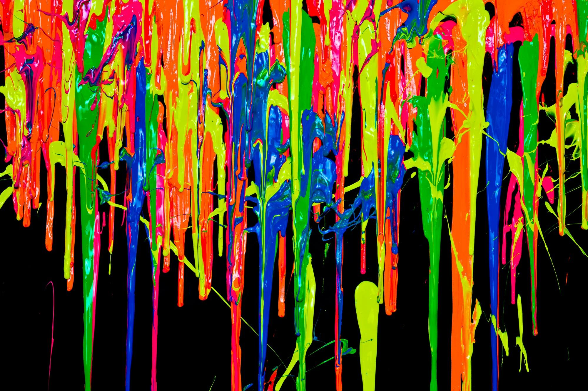 makes a good desktop background Neon painting