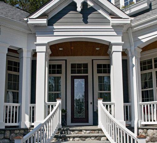 Houzz Home Design Exterior Entrance