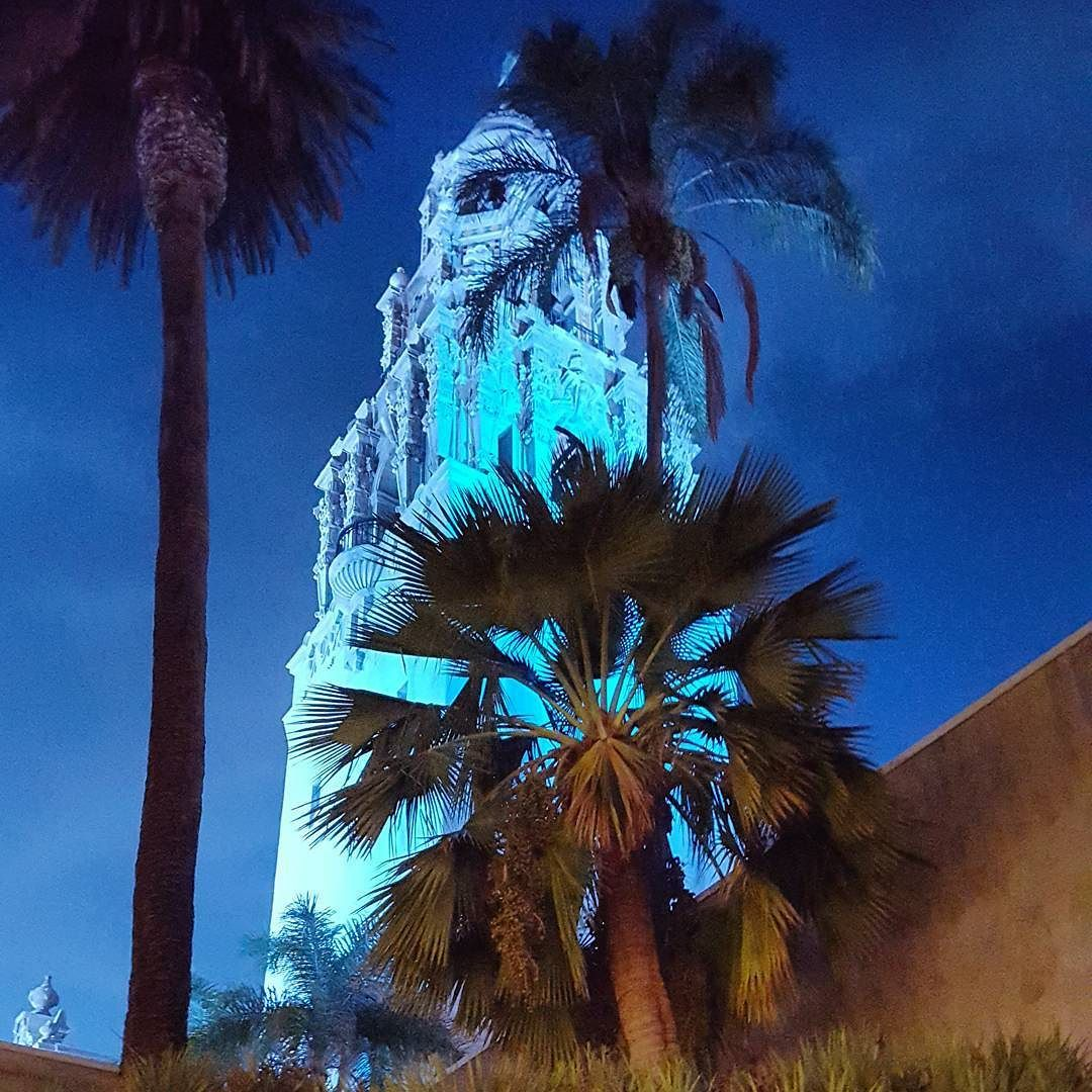 Goodnight #sandiego  #balboapark #california #samsungs6edge #eveningstroll by selinayorci