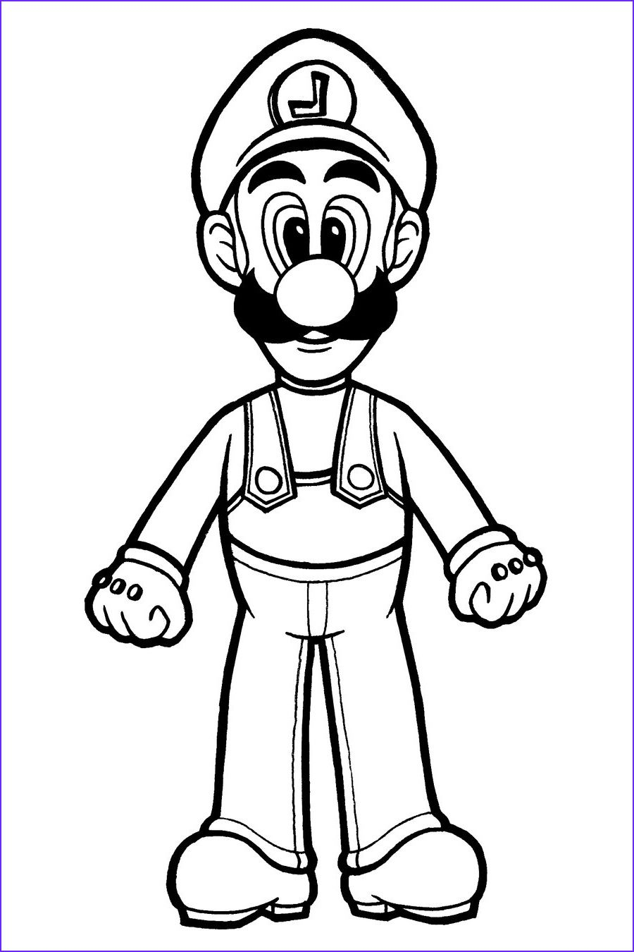 Free Printable Luigi Coloring Pages For Kids In 2020 Super Mario Coloring Pages Mario Coloring Pages Coloring Pages