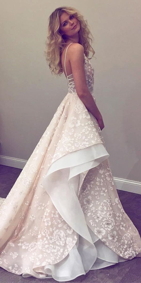 2018 Open Back Wedding Dress Designers
