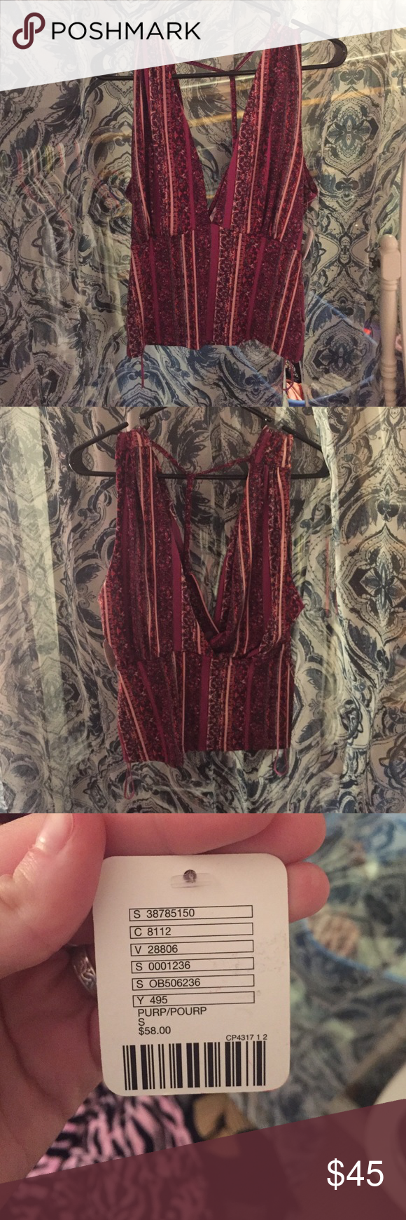 Shirt Brand new from free people got it for $58 size small Free People Tops Tank Tops