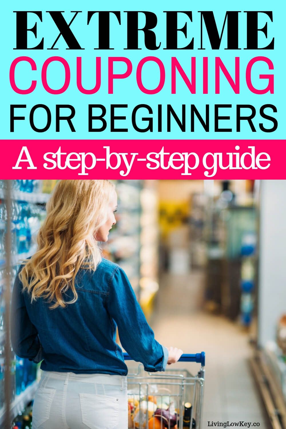 A simple how to start couponing for beginners guide! This step by step guide will teach you everything you need to get started to becoming a successful couponer. #extremecouponing #couponingforbeginners #howtostartcouponing #savingmoney #budgeting #frugalliving #couponing