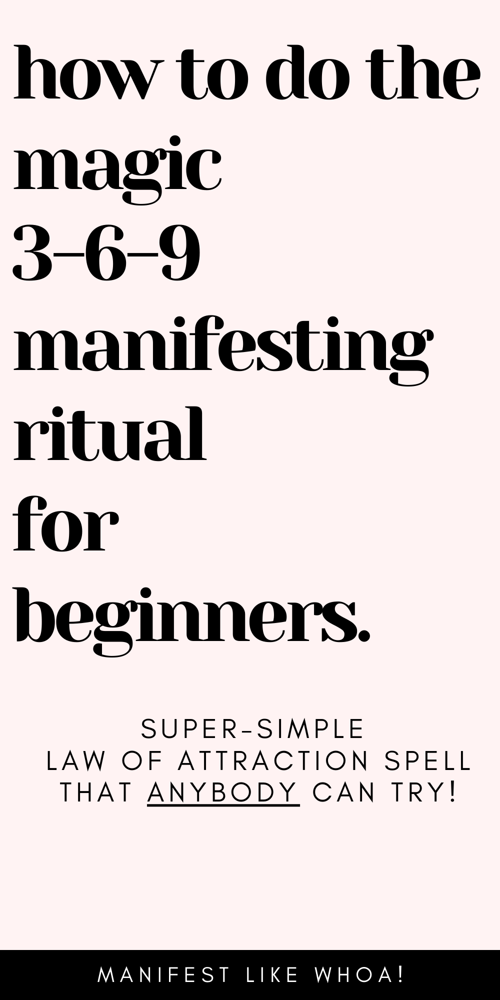 How To Do The 369 Manifestation Method From Tik Tok Best Manifesting Loa Technique In 2021 Manifestation Quotes Manifestation Spells Manifestation