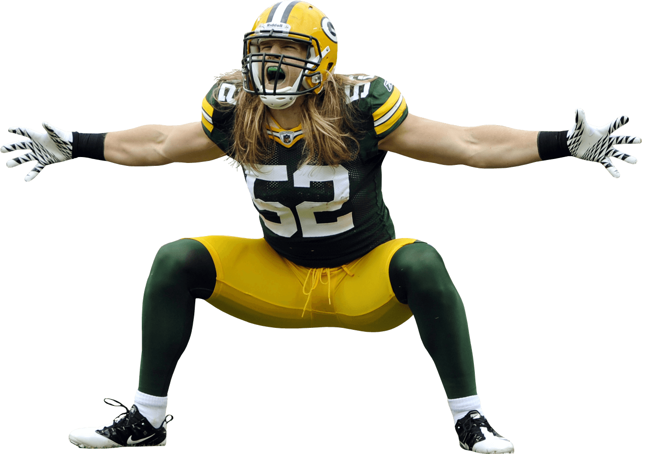 American Football Png Image Green Bay Packers Green Bay Packers Fans Clay Matthews