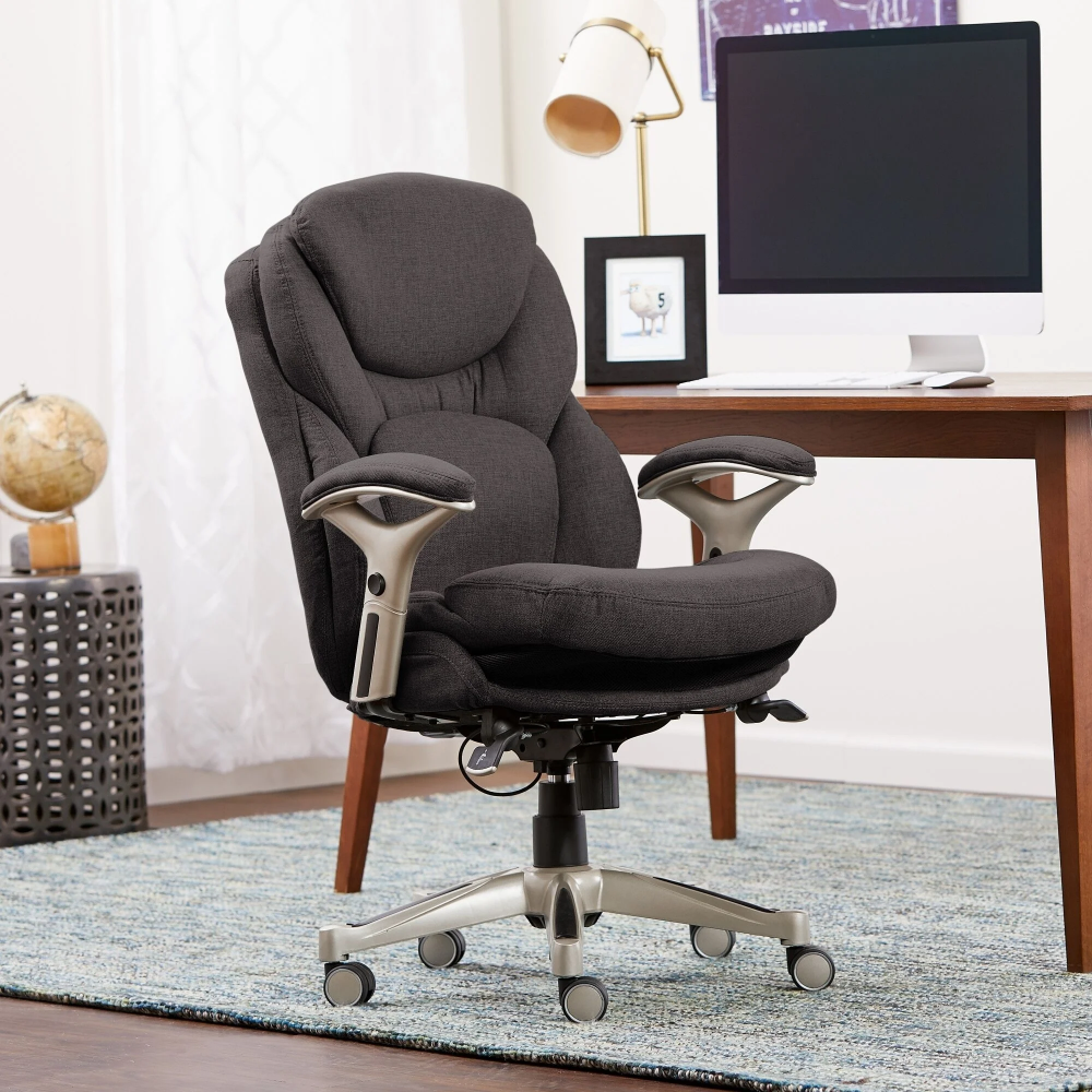 Serta Works Bonded Leather Executive Office Chair with