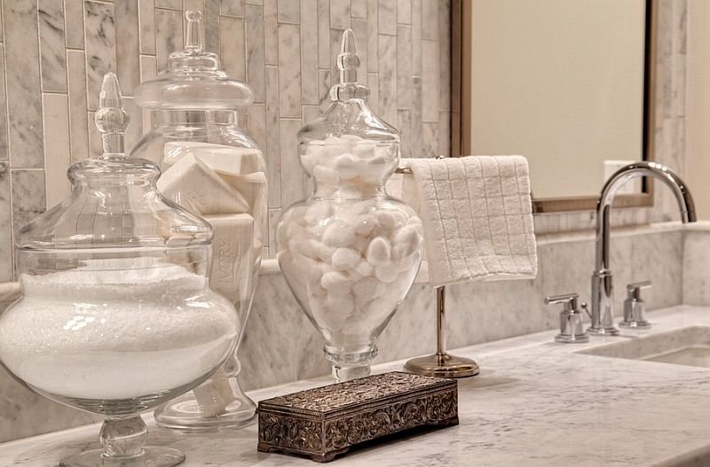 exceptional bathroom apothecary jar ideas amazing pictures