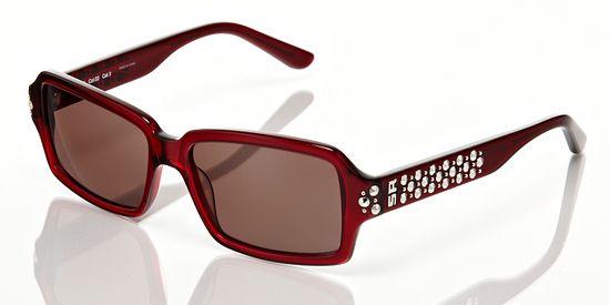 3acebbffd9b Sonia Rykiel Women's Sunglasses: Red Frame, Brown Lens | Bling ...