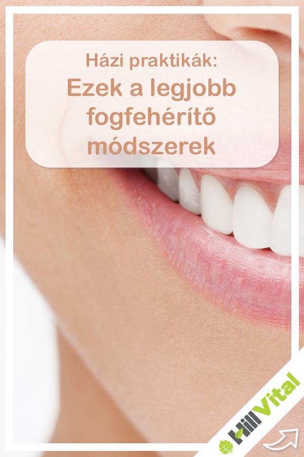 Ezek a legjobb fogfehérítő módszerek | Health, Pill, Fog