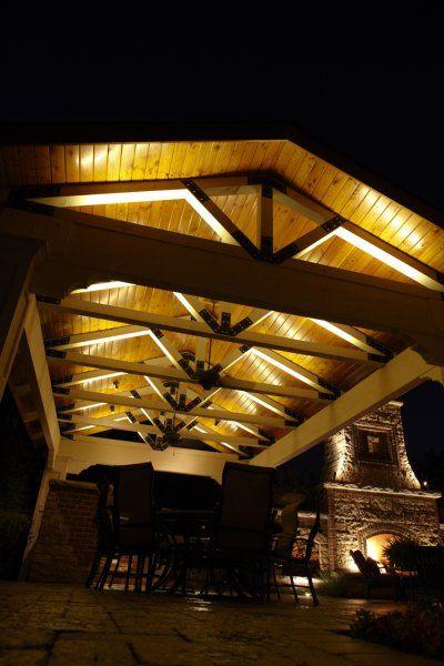 gazebo lighting outdoor