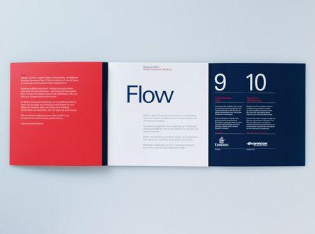 Brochure for Deutsche Bank by 2br Editorial design