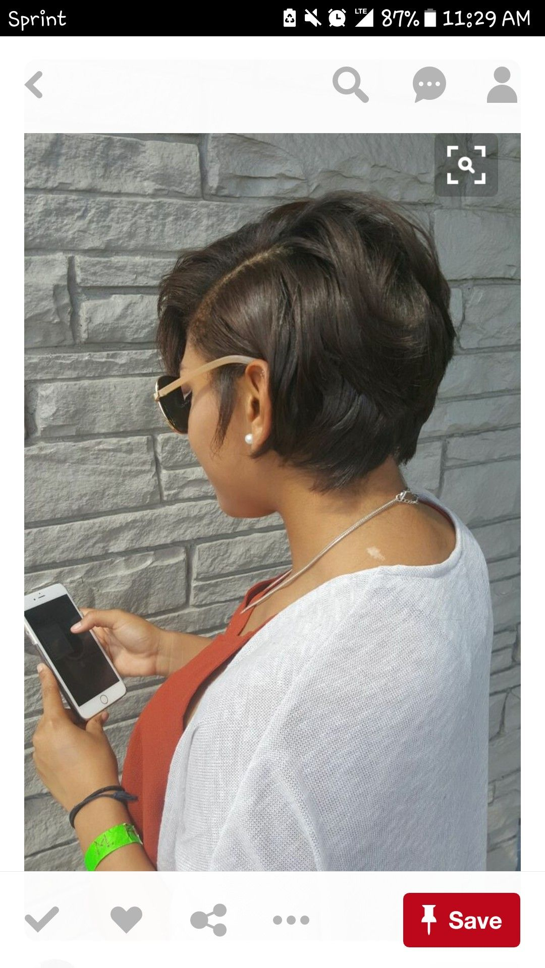 Short and neat like it hair pinterest shorts hair style and