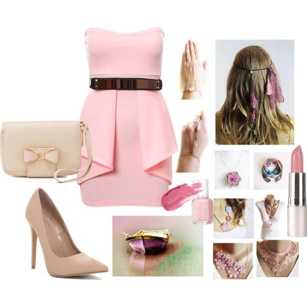 178 by selenay6 on Polyvore featuring moda, Charlotte Russe and Essie