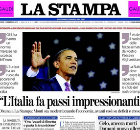 Monti's US visit is cover for an Italian pitch to US infrastructure investors.