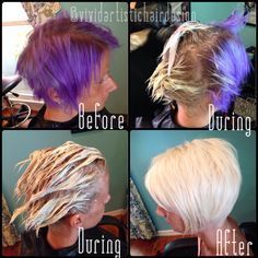 Color Correction Homemade Purple To Platinum Hair Color Remover Hair Dye Removal Remove Semi Permanent Hair Color