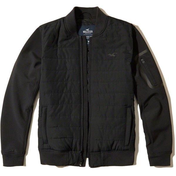 hollister padded jacket