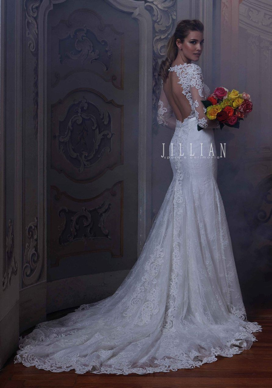 Lace and beading cherie style jillian sposa new collection