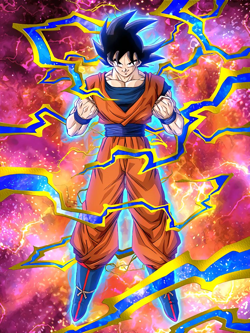 Quiet Grit Goku Dragon Ball Z Dokkan Battle Dragon Ball Super Goku Anime Dragon Ball Dragon Ball Art