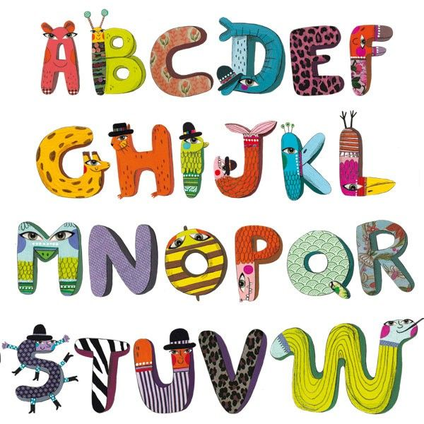 stickers enfants l 39 alphabet des animaux cositas para peques pinterest alphabet des animaux. Black Bedroom Furniture Sets. Home Design Ideas