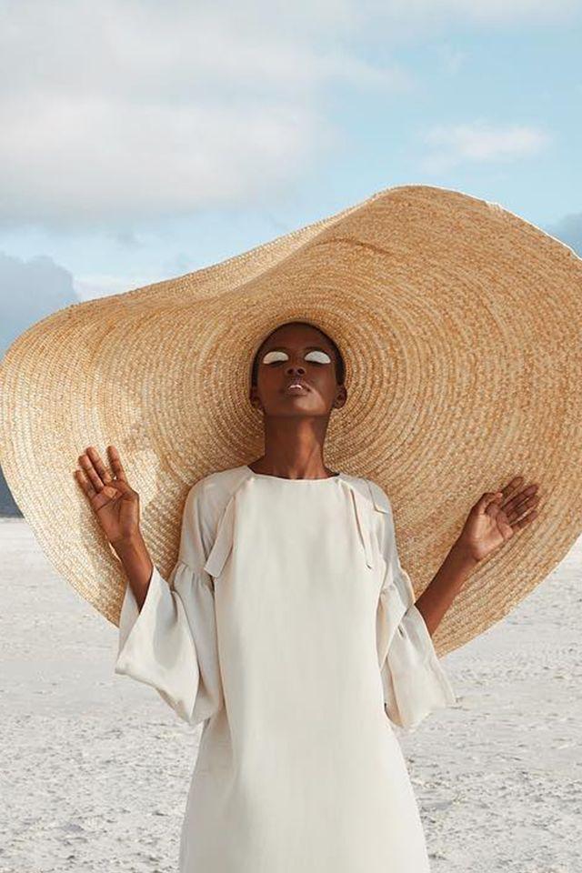 Vacation trends big hats
