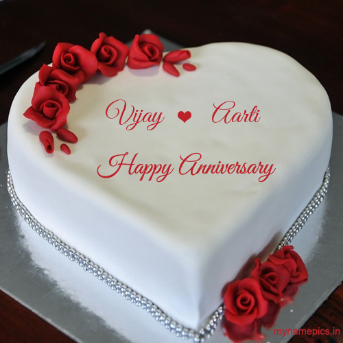 Pin by Aartipooonia on aarti in 2020 Anniversary cake