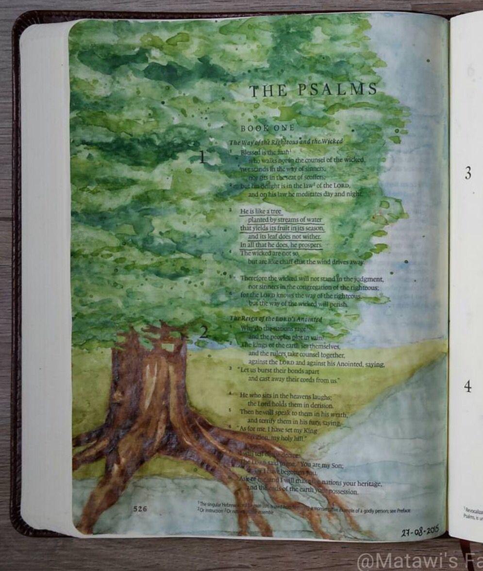 Bible Testament Art Old Journaling