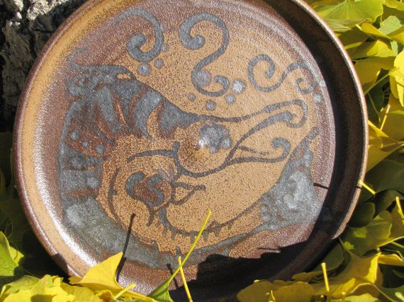 Idaho Wild Salmon PlatesThese plates are by FireGoddessCeramics