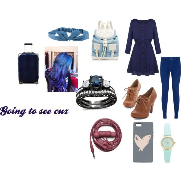 Going to see cuz by jettcc on Polyvore featuring Forever New, Urbanears, Aéropostale, Rimowa and Talula