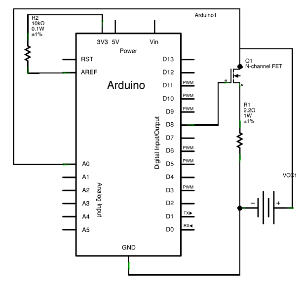 arduino circuit diagram drawer