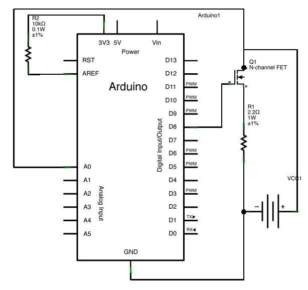 arduino battery capacity tester  u00ab memory leak