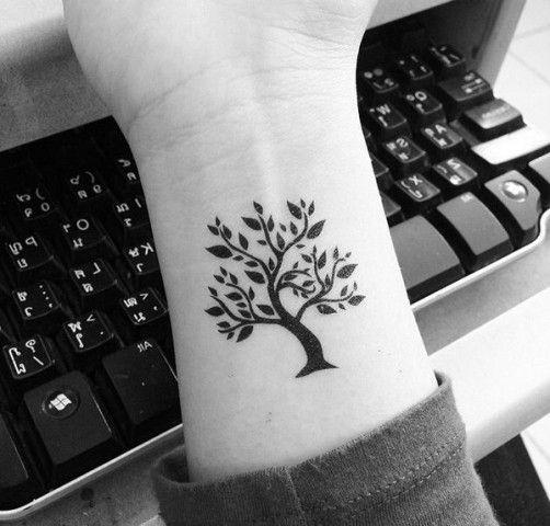 Small Tree Of Life Tattoo Designs