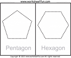 Crescent Shape Tracing Worksheets Pentagon And Hexagon Shape Png Image With Transparent Background Png Free Png Images Shape Tracing Worksheets Tracing Worksheets Free Printable Worksheets