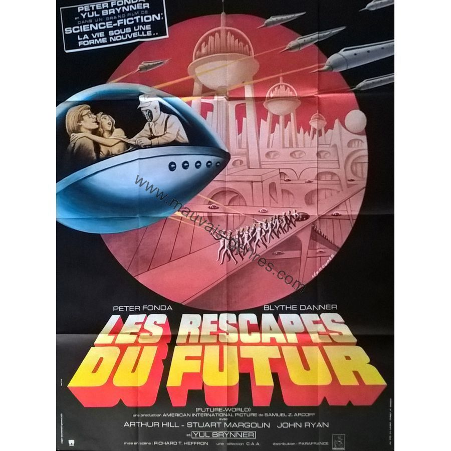 Future World French Movie Poster 47x63 1976 Richard T Heffron Peter Fonda | eBay