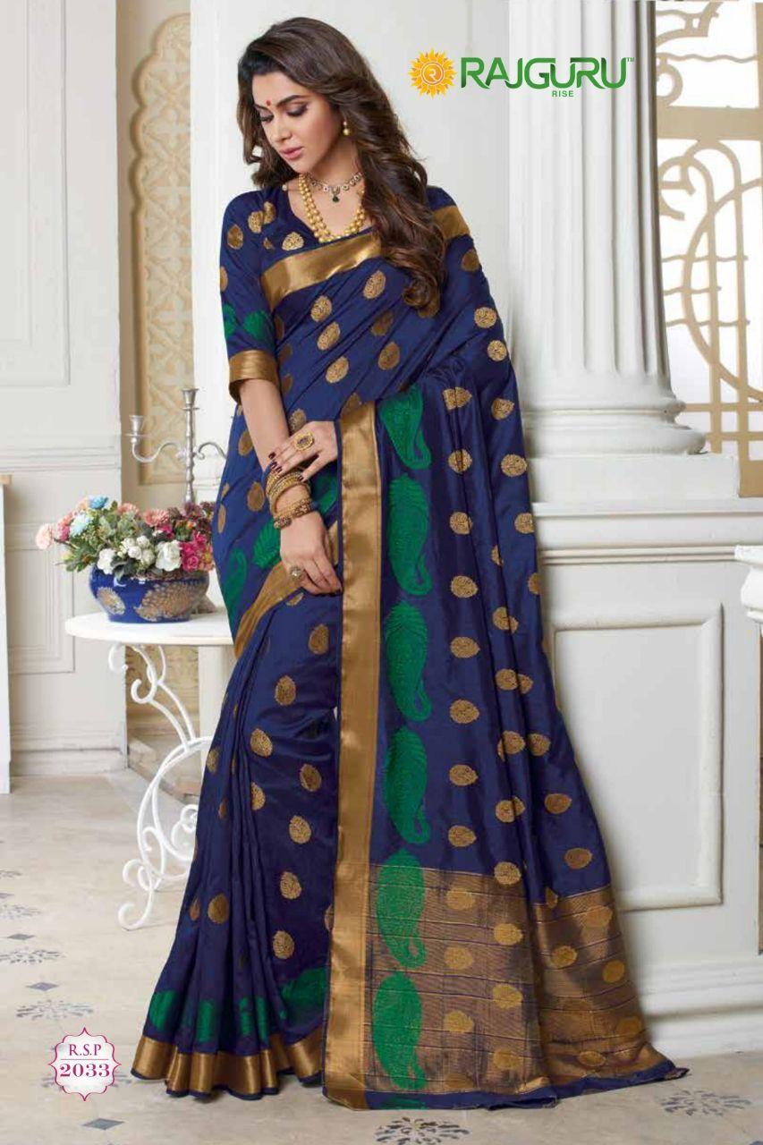 586f10be82 #blue #cotton #silk #print #saree | blue saree | cotton silk saree | printed  saree | occasional wear