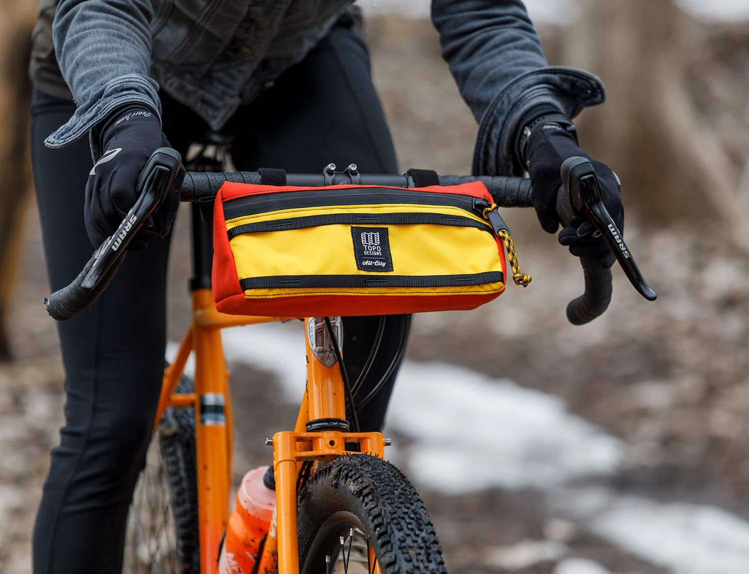 All City X Topo Designs Handlebar Bag | All City Cycles