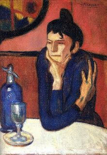 The Absinthe Drinker, Picasso, 1901
