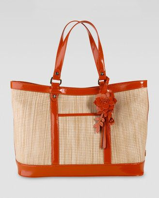 a7703d2052 ShopStyle: Cole Haan Jitney Straw Tote | The Purse Snob | Straw tote ...