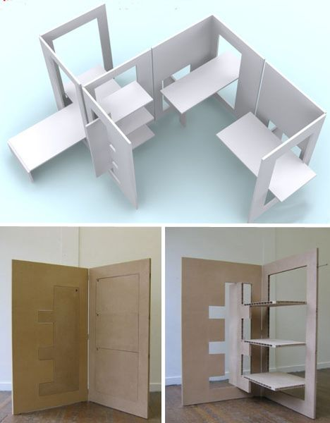 All in one room kit for Flat pack muebles