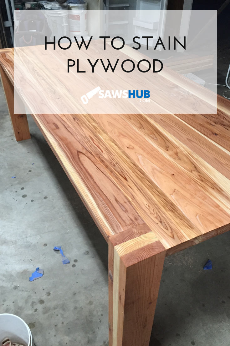 How to Select, Stain, and Finish Plywood for Woodworking ...