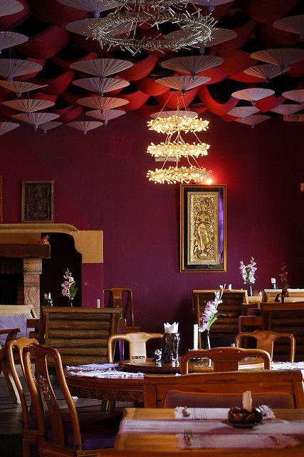 portugal albufeira thai restaurant interior zen inspired rh pinterest com