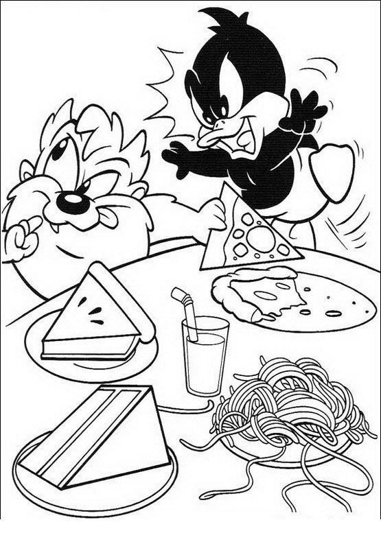 Baby Looney Tunes Ausmalbilder 51