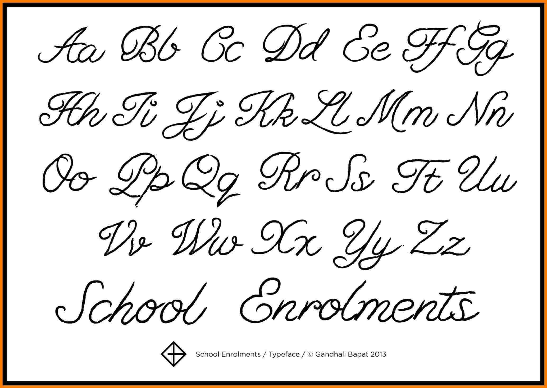 Fancy Cursive Alphabet Chart Bigit Karikaturize Com