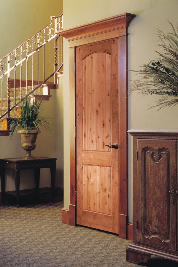 archive alder door for tag kdb passage doors knotty hmi rustic interior blog