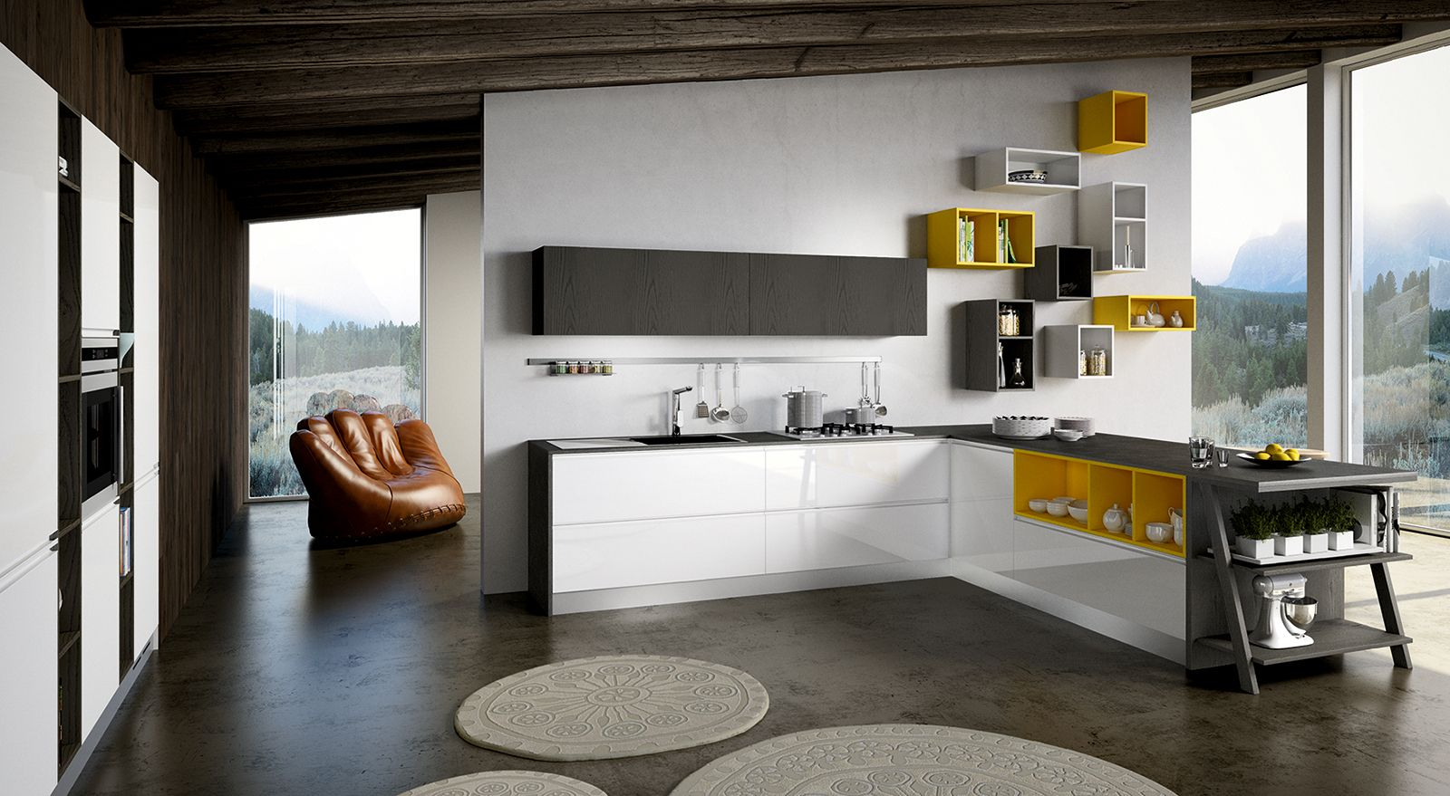 Awesome Colori Per Cucina Moderna Pictures - bakeroffroad.us ...