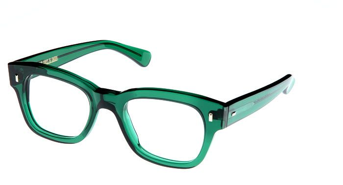 ffbcd568e0 0772 Emerald Green  470.00 50s inpired frame with a traditional and classic  design  thick and chunky acetate and vintage rectangular pins.
