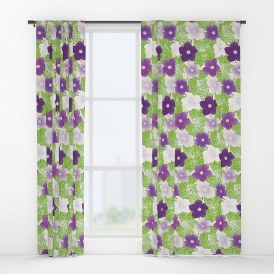 An Absolutely Gorgeous Flower That Changes From A Deep Violet Color Fading To Lavender Blue And Then White Over The Sp Lavender Blue Design Curtains