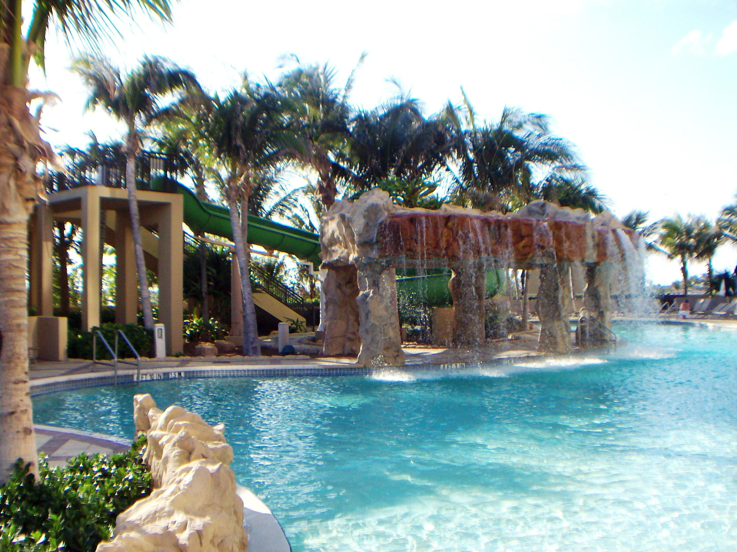 The Lagoon Pool at the Palm Beach Marriott Singer Island
